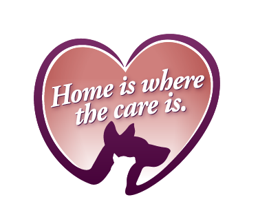 Home is where the care is.